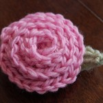 Free Crochet Pattern - Rose & Leaf by A Crocheted Simplicity