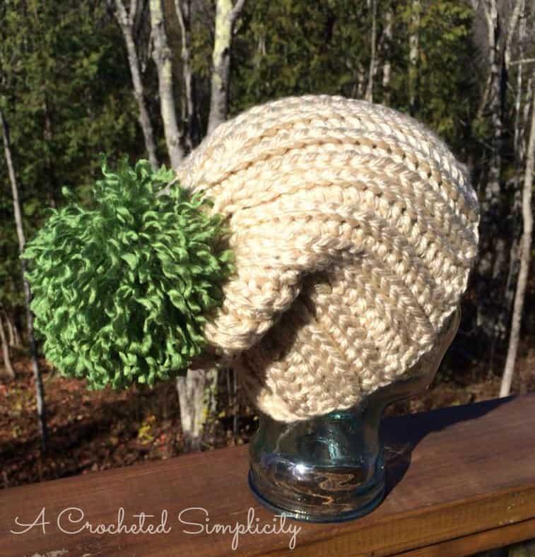 Knit Slouchy Hat Pattern Bulky Yarn : Free Crochet Pattern