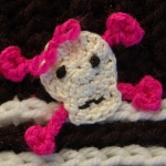 Free Crochet Pattern - Fun Punk Applique by A Crocheted Simplicity