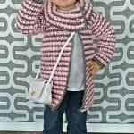 Girls Vintage Houndstooth Jacket