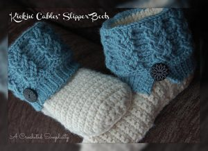 """Kickin' Cables"" Slipper Boots ~ Adult"