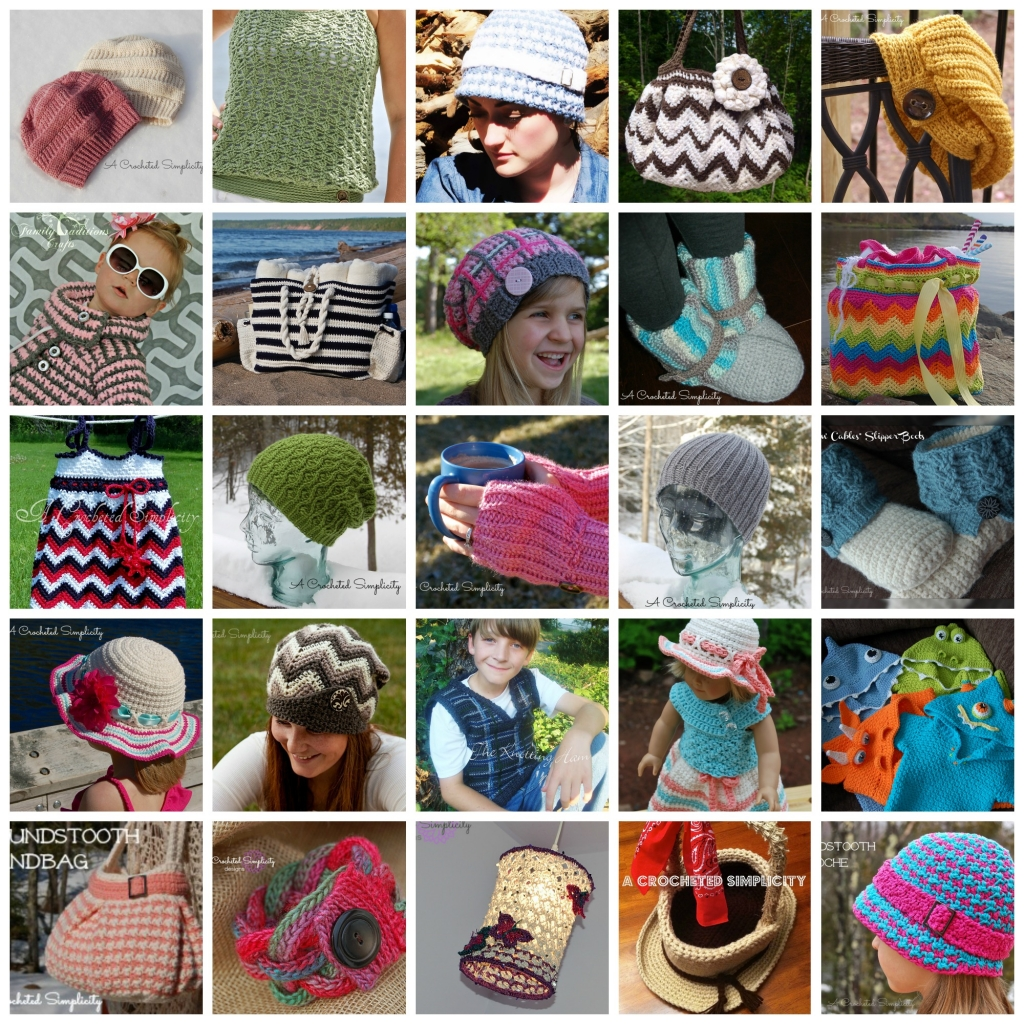 A Crocheted Simplicity Designs