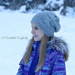 Crochet Pattern - Big Bold Cabled Beanie, Slouch, & Messy Bun by A Crocheted Simplicity