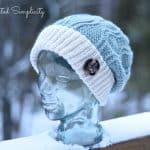 Crochet Pattern - Blackjack Ski Slouch by A Crocheted Simplicity