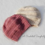 """Crochet Pattern - """"Purl Illusions"""" Slouch by A Crocheted Simplicity"""