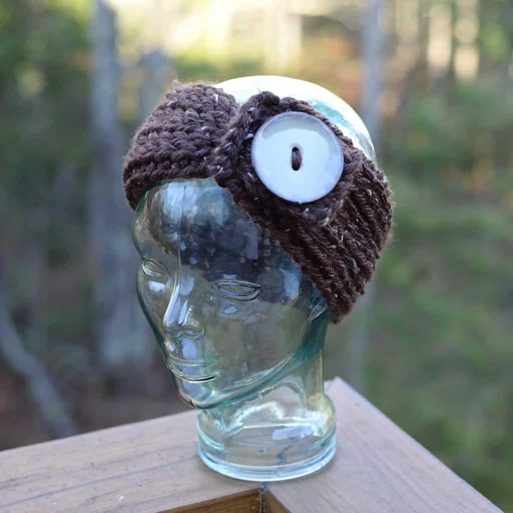Knit Look Chunky Headwarmer Adult 5