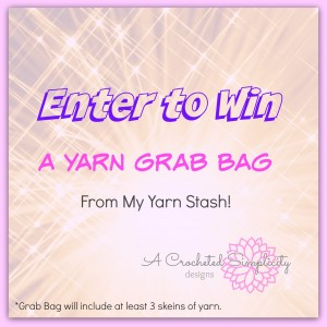 Daily Giveaway  |  Win a Yarn Grab Bag!