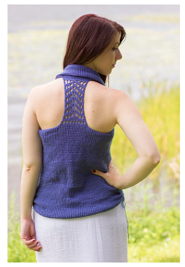 """""""Northern Harbor"""" Tank by Jennifer Pionk designed exclusively for Crochet! Magazine Summer 2016"""