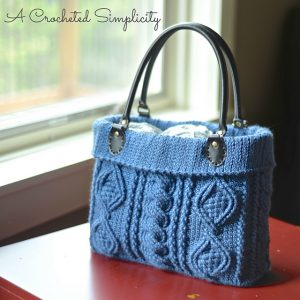 """Totally Textured"" Cabled Bag"