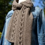 Infinity Cable Scarf Crochet Pattern by A Crocheted Simplicity