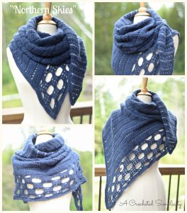 """Northern Skies"" Convertible Scarf & Wrap"