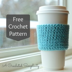 Video Tutorial: Learn the Extended Single Crochet Stitch & make a Stretchy Coffee Sleeve