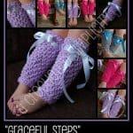 "Crochet Pattern - ""Graceful Steps"" Legwarmers by A Crocheted Simplicity"