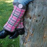 "Crochet Pattern - ""Perfectly Plaid"" Legwarmers by A Crocheted Simplciity"