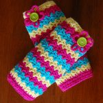 Crochet Pattern - Making Waves Legwarmers by A Crocheted Simplicity