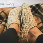 Crochet Pattern - Winter Waves Slippers by A Crocheted Simplicity