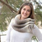 Free Crochet Pattern - Aveline Reversible Scarf