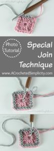 Learn how to use this special join technique for joining rounds of slip stitch crochet. This special join technique produces a nice, smooth join. #slipstitchcrochet #slipstitchtutorial #crochettutorial #specialjointechnique #freecrochettutorial