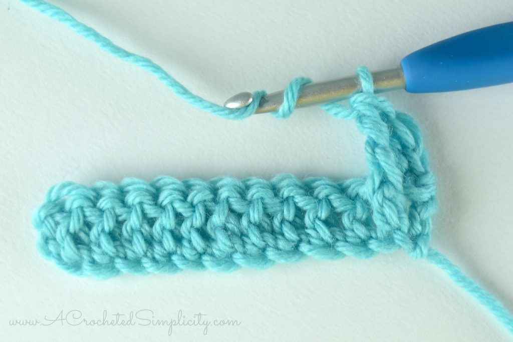 How to Crochet - Front Post Treble Crochet (fptr) (photo & video tutorial) by A Crocheted Simplicity