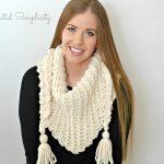 Free Crochet Pattern - Abella Scarf by A Crocheted Simplicity