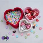 Free Crochet Pattern Heart Nesting Baskets by Blackstone Designs