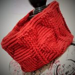 Free Crochet Pattern My Valentine Hearts Cowl by Thomasina Cummings Designs