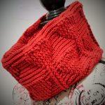 Free Crochet Pattern My Valentine Hearts Cowl by Thomasina Cummings Designs