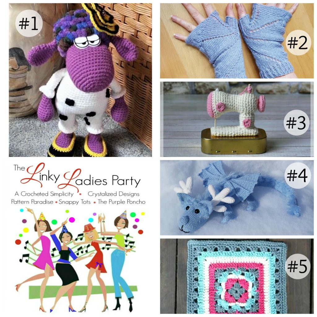 Come join the party! Link-Up your projects with the Linky Ladies Community Party!