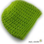 Free Crochet Pattern - Easy Peasy Messy Bun by Simply Collectible