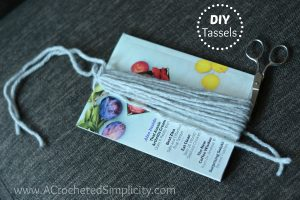 Do It Yourself (DIY) – Yarn Tassels