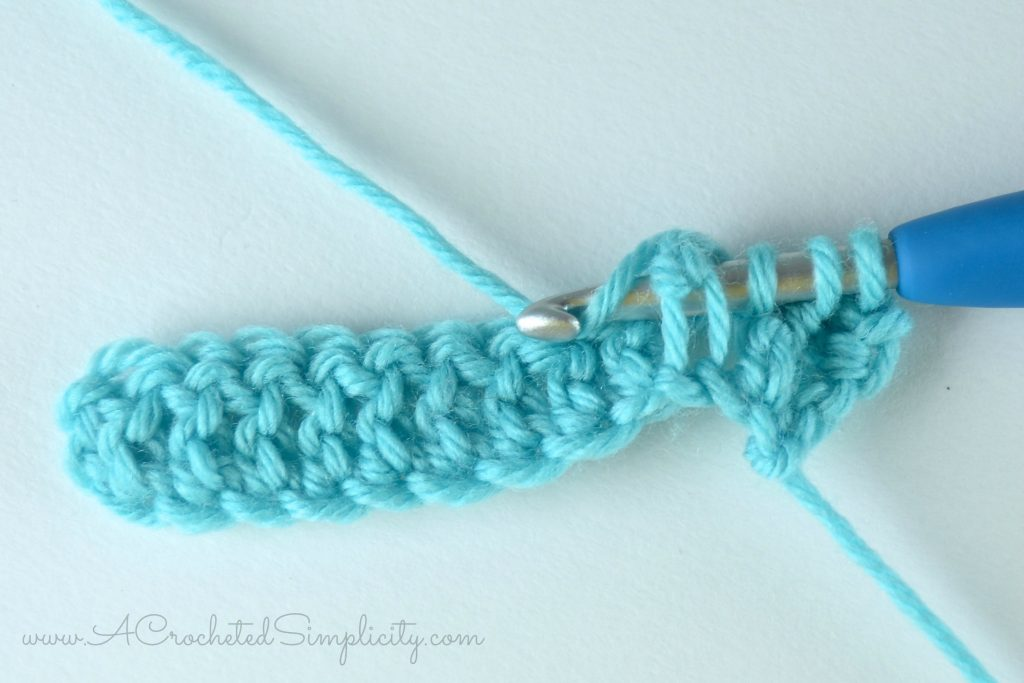 How to Crochet - Front Post Double Crochet Decrease (fpdc2tog) photo & video tutorial by A Crocheted Simplicity