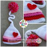 Free Crochet Pattern Jazlyns beanie by