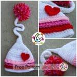 Free Crochet Pattern Jazlyns beanie by