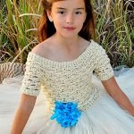 Crochet Dress Pattern Feeling Free by Busting Stitches
