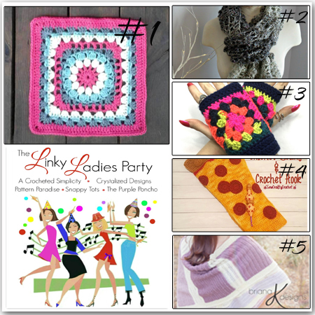 Come join The Linky Ladies Link Party & link your newest projects!
