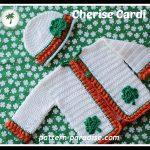 Crochet Pattern - Cherise Baby Cardigan by Pattern Paradise