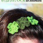 Free Crochet Pattern - Shamrock Headband by Craftown