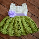 Crochet Pattern - Ribbon & Lace Toddler Dress by Crafting Friends