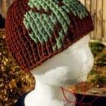 Free Crochet Pattern - Shamrock Beanie by MNE Crafts