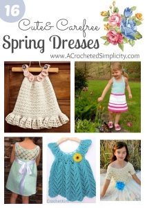 16 Cute & Carefree Spring Dresses for Girls