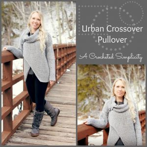 Urban Crossover Pullover – Crochet-A-Long (CAL)