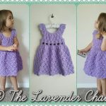 Vintage Toddler Rounded Yoke Dress - Free Crochet Pattern - The Lavender Chair