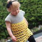 Crochet Pattern - Baby Chevron Lace Tunic by Em's Corner