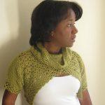 Crochet Pattern - Katya Spring Shrug by Yarn Obsession