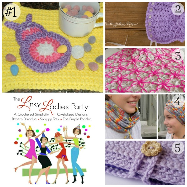 Come join The Linky Ladies Link party and link up your projects!