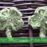 Free Crochet Pattern - Shamrock by The Stitchin' Mommy
