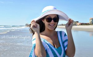 Beach Day Sunhat – Free Crochet Pattern – #CelebrateMomCAL