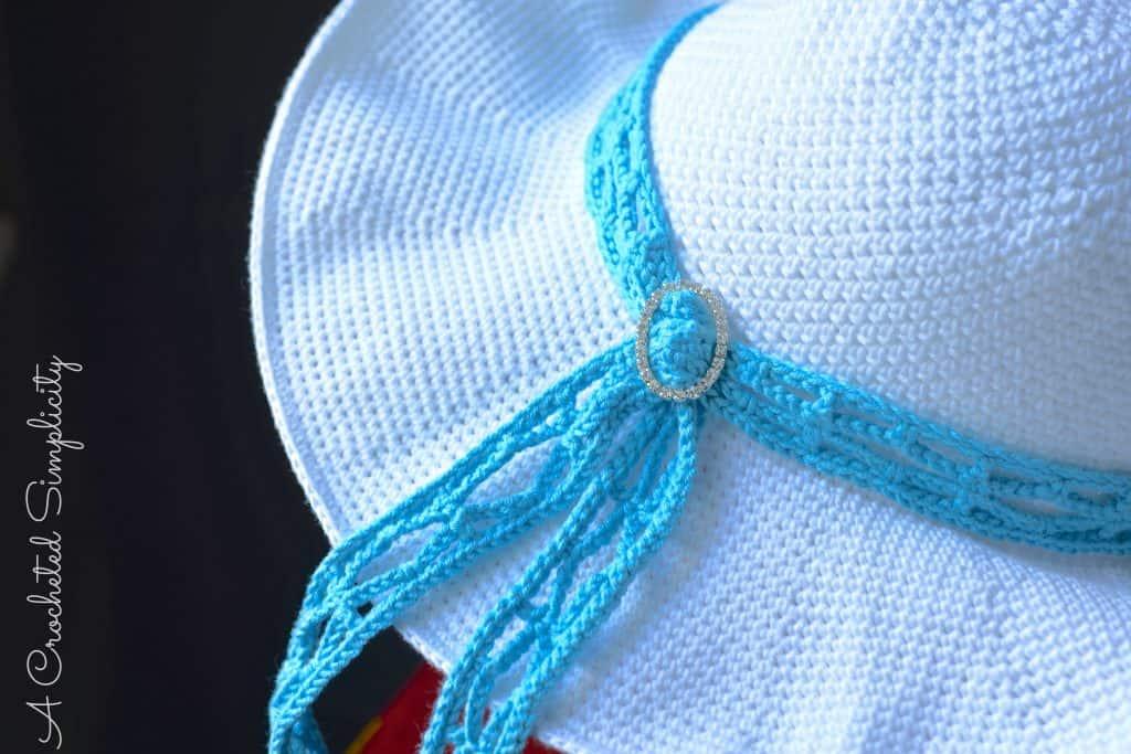 Beach Day Sunhat Free Crochet Pattern Celebratemomcal A