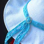 Free Crochet Pattern - Beach Day Sunhat by A Crocheted Simplicity