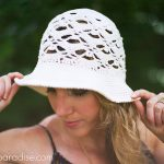 Crochet Pattern - Willow Sun Hat by Pattern Paradise